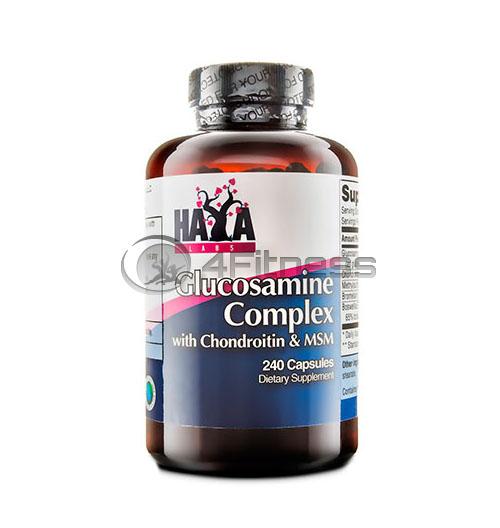 Glucosamine Chondroitin & MSM Complex – 240 Caps.
