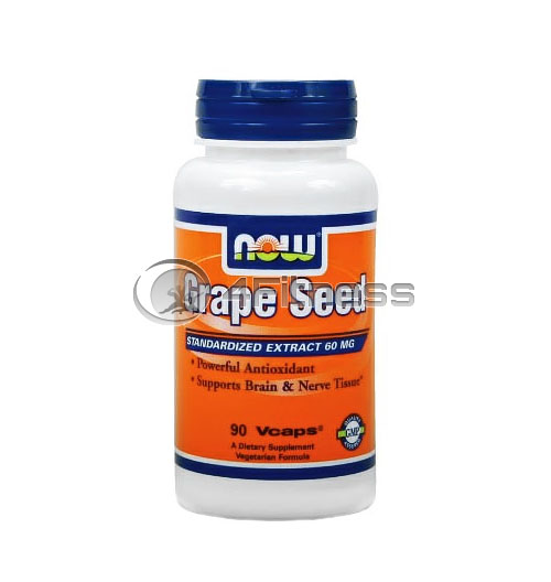 Grape Seed Antioxidant – 60 mg. / 90 VCaps.