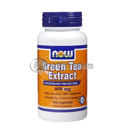 Green Tea Extract – 400 mg. / 100 Caps.