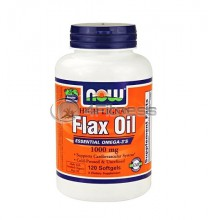 High Lignan Flax Oil - 1000 mg. / 120 Softgels