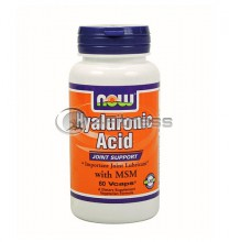 Hyaluronic Acid with MSM - 60 Caps.