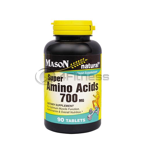 Super Amino Acids 700 mg./ Супер аминокиселини 700 мг. – 90 caps.