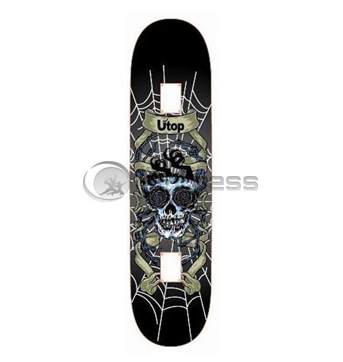 Скейтборд Utop Skull – NET
