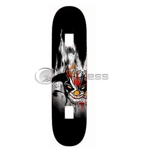 Скейтборд Utop Skull – DEMON