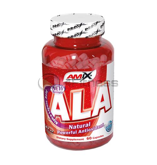 ALA (Alpha Lipoic Acid) – 60 caps.