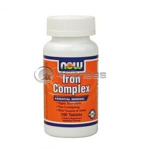 Iron Complex - 100 Tabs.