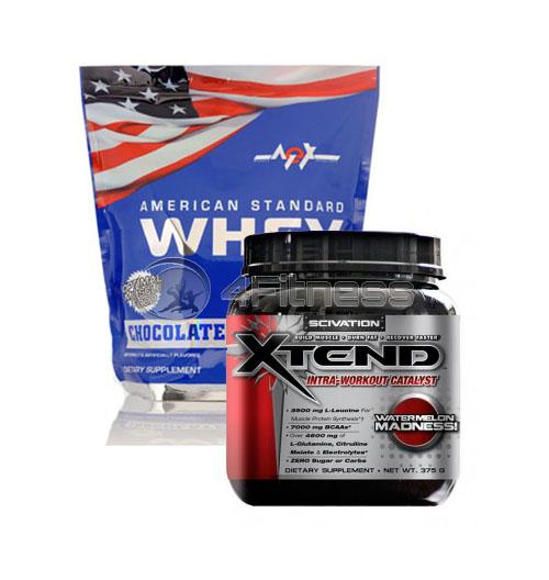 American Standard Whey – 2270 gr. + Xtend – 30 Serv. stack