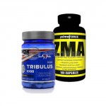 Pure Tribulus 1000 – 60 Tabs. + ZMA – 180 Caps. stack