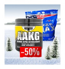 Size Max + AAKG stack
