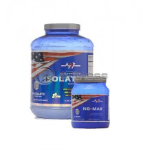 Whey Protein Isolate - 2270 gr. / NO-Max stack