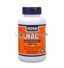 NAC - 600 mg. / 100 Caps.