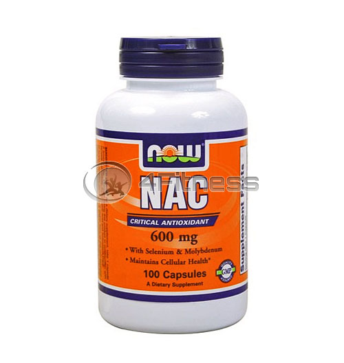 NAC – 600 mg. / 100 Caps.