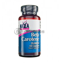 Natural Beta Carotene - 25,000 IU / 100 Caps.