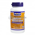 Natural Resveratrol /Mega Potency/ – 200mg. / 60 VCaps.
