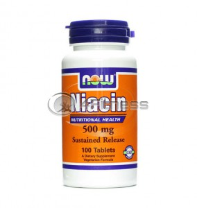 Niacin - 500 mg. / 100 Tabs.