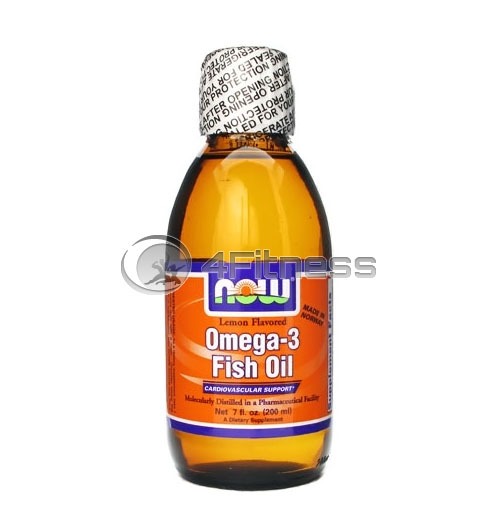 Omega 3 Fish Oil – 200 ml.