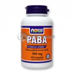 PABA – 500 mg. / 100 Caps.