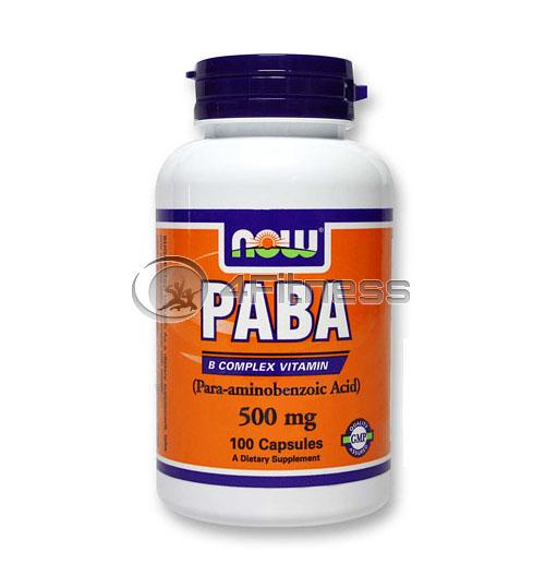 PABA – 500 mg. / 100 Caps.