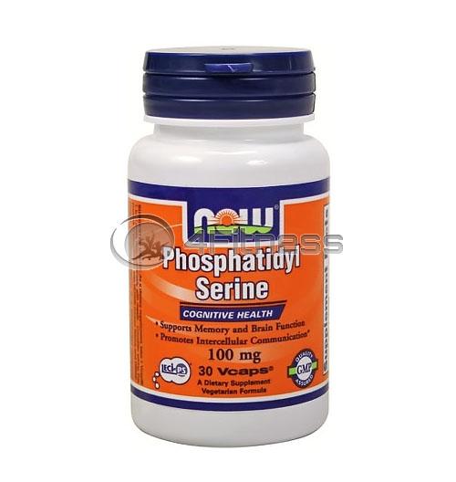 Phosphatidyl Serine – 100 mg. / 30 Caps.