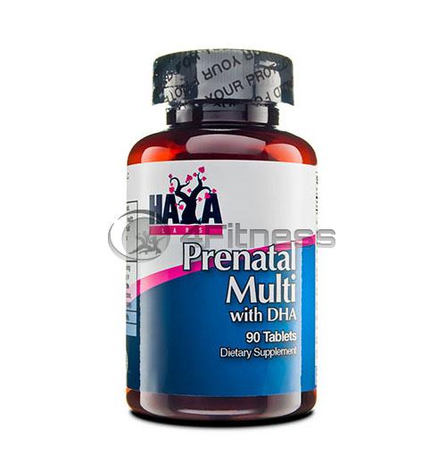 Prenatal Multivitamin with DHA – 90 Tabs.