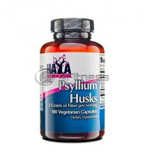 Psyllium Husks - 500 mg. / 180 Vcaps.