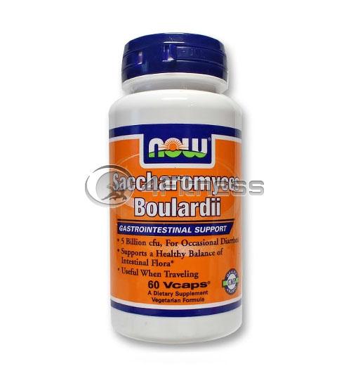 Saccharomyces Boulardii – 60 VCaps.