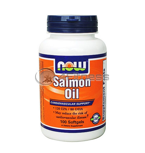 Salmon Oil – 1000 mg. / 100 Softgels