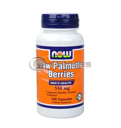 Saw Palmetto – 550 mg. / 100 Caps.