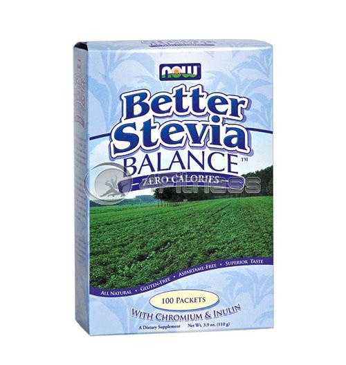 Stevia Balance with Inulin & Chromium – 100 Packs