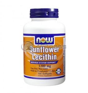 Sunflower Lecithin /Non-GMO/ - 1200 mg. / 100 Softgels