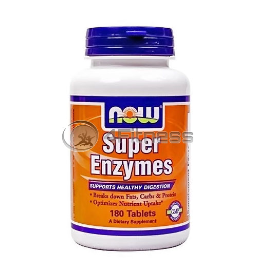 Super Enzymes – 180 Tabs.