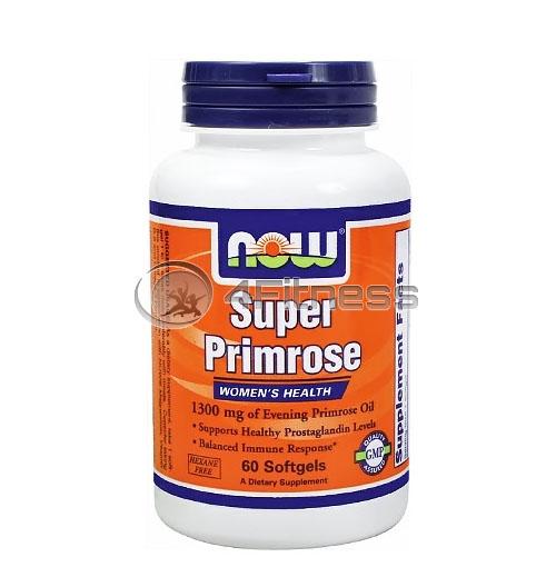 Super Primrose – 1300 mg. / 60 Softgels