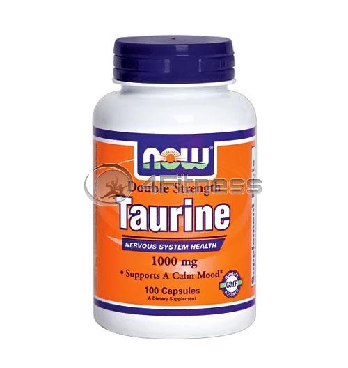 Taurine – 1000 mg. / 100 Caps.