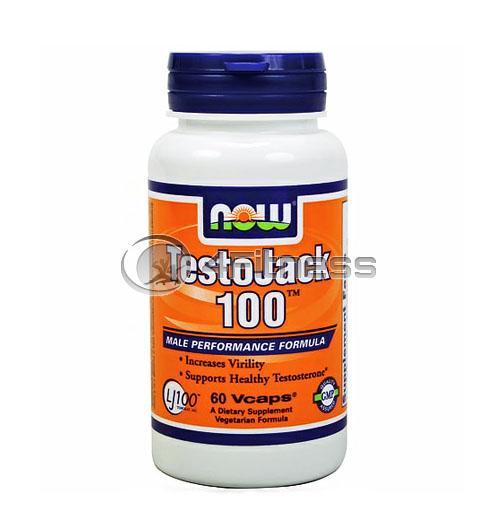 TestoJack 100 ™ – 60 VCaps.