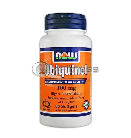 Ubiquinol – 100 mg. / 60 Softgels