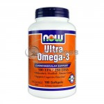 Ultra Omega 3 Fish Oil - 180 Softgels