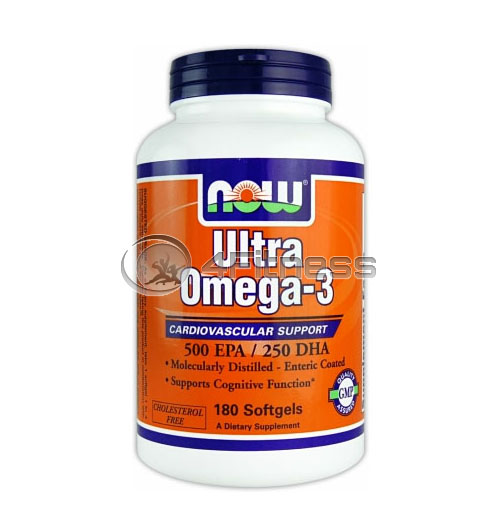 Ultra Omega 3 Fish Oil – 180 Softgels