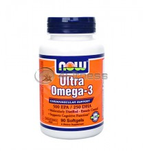 Ultra Omega 3 Fish Oil - 90 Softgels