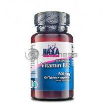 Vitamin B12 / Sublingual - 500 mcg. / 100 Vtabs.