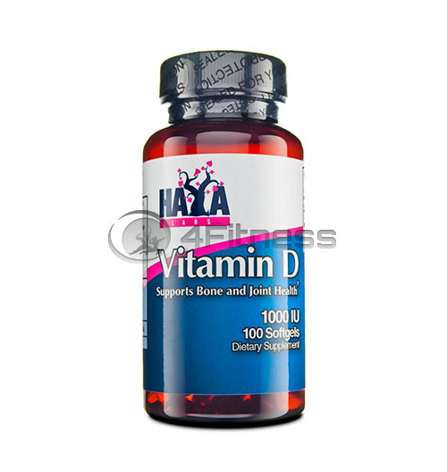 Vitamin D – 1000 IU / 100 Softgels