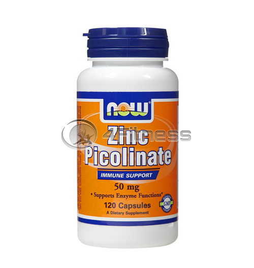 Zinc Picolinate – 50 mg. / 120 Caps.