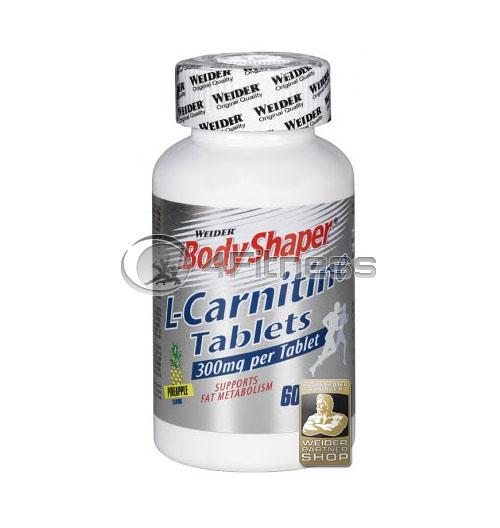 L-Carnitine – 60 Chew Tabs.