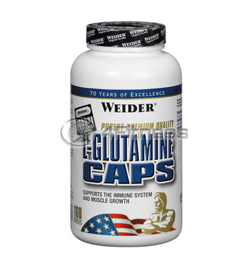 L-Glutamine – 160 Caps.