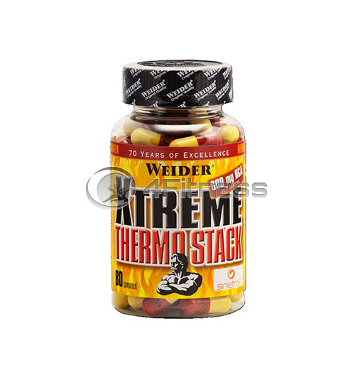 Xtreme Thermo Stack – 80 Caps.