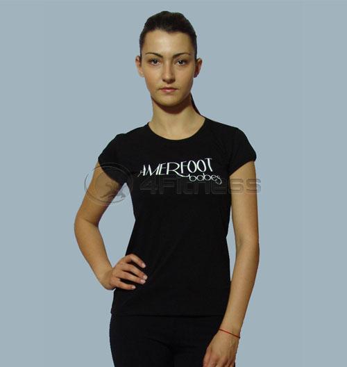 """Тениска """"AMERFOOT BABE'S"""" – черна"""