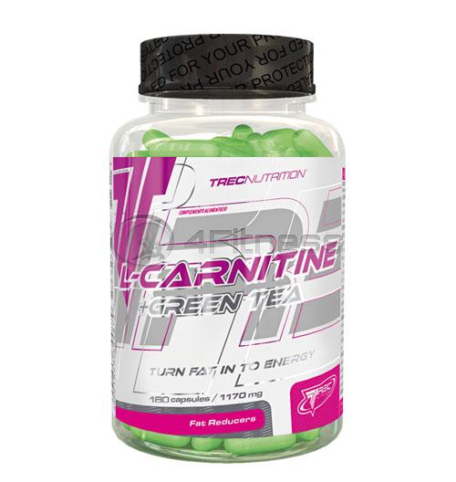 L-CARNITINE + GREEN TEA – 180 капс.