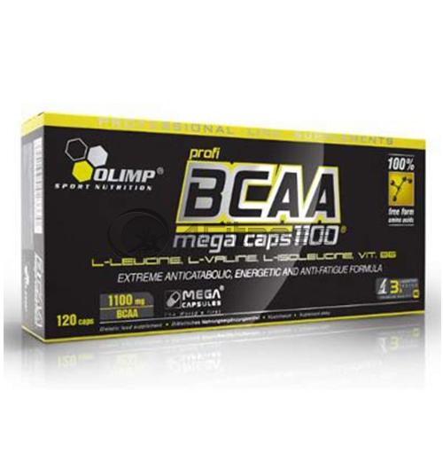 BCAA Mega 120 Caps.