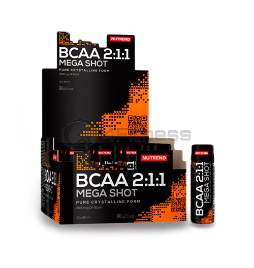 BCAA MEGA SHOT 20x 60 ml