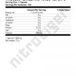 TRIBULUS-TERRESTRIS-TURBO-120-caps-etiket