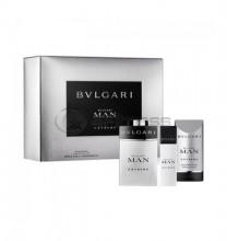 Bvlgari Man Extreme EDT 60 ml + ASB 75 ml + SG 75 H SET